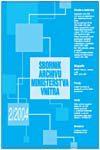 Obálka Sborník Archivu Ministerstva vnitra 2/2004 - ilustrační foto