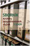 Obálka Sborník Archivu bezpečnostních složek 7/2009 - ilustrační foto