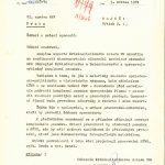 Přípis náčelníka Kriminalistického ústavu Veřejné bezpečnosti z května 1974 k zahájení oponentního řízení