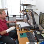 Sami skeneristi přiblížili práci na oddělení digitalizace