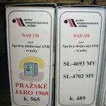 Karton s dárky byl k nerozeznání od pravé evidenční jednotky fondu Správa sledování SNB – svazky