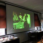 Během akce byly promítány ukázky z filmu Olgy Sommerové Červená, který byl oceněn i Českým lvem a z části se natáčel v budově archivu
