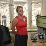 Pracoviště tzv. lustrací zastupovala Vendula Krejčí, která seznámila přítomné s dochovanými evidencemi ve správě Archivu bezpečnostních složek