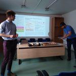 Václav Sixta a Marek Suk přibližují jeden z edukačních programů