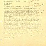 Dálnopis o relaci vysílané místním rozhlasem v Novém Městě na Moravě o rezoluci vzniklé mezi zaměstnanci geologického průzkumu