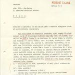 Zpráva ze dne 28. října 1968 o protestních akcích v Praze