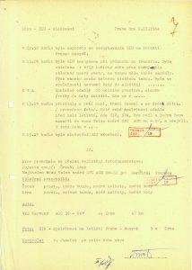 Zpráva ze sledování HIU ze dne 9. 11. 1984 / Code name HIU: Surveillance Report dated 9 November 1984