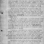 Report of the Chief Commander of the Foreign Intelligence Josef Houska to the Minister of Interior Josef Kudrna