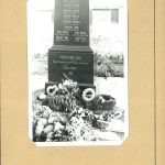 Memorial to the death transport victims from the Johanngeorgenstadt camp in Psov
