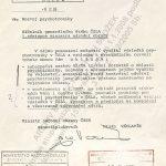 Rozkaz ministra národní obrany Milána Václavíka ve věci psychotroniky ze dne 6. září 1985