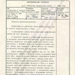 Informační zpráva pro náčelníka generálního štábu ČSLA ze dne 24. října 1985