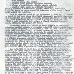 Zpráva náčelníka inspekce Krajské správy SNB Brno ze dne 17. 12. 1989 o prošetření případu pálení materiálů StB v Kanicích, okr. Brno-venkov