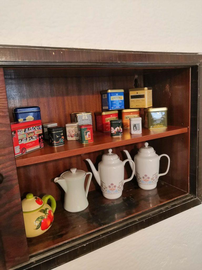 Na akci byl podáván především čaj