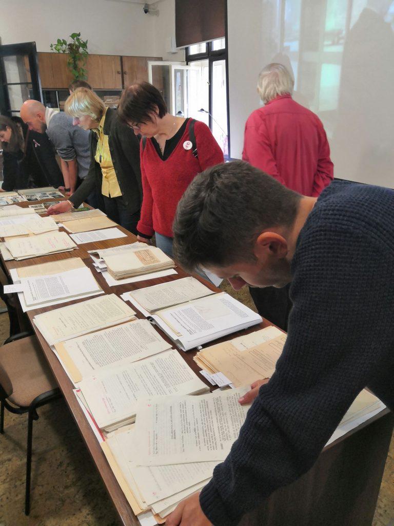 Archiválie k Václavu Havlovi návštěvníky velmi zaujaly