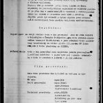 "The second page of the document on long-term eavesdropping. ""Jezero"" (The Lake) was the codename for the radio station. Intelligence Equipment Directorate collection, file B-1151 ZT."