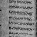 The second page Part of the intelligence report obtained from the eavesdropping of Alfréd Radok's flat. The subject is the meeting of Radok and the actor Svatopluk Beneš is mentioned. Counterintelligence Files Group collection, file 588095 MV.