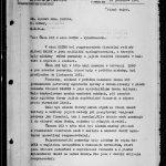 "Front page of the final evaluation of the ""Task 103"" as part of the Metro action. Intelligence Equipment Directorate collection, file B-1151 ZT."