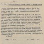 Žádost expertní komise Ministerstvu kultury o pozvání francouzského experta Jacquese Prévosta do ČSR