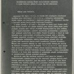 Petice akademika Bechyně řediteli Schleissovi (Ministerstvo kultury) na podporu prof. Wünsche (1. strana)