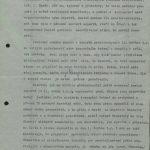 """Ukázka ze strojopisu článku V. Cacha """"Než svatí se pohnou"""" publikovaného 25. 6. 1969 v týdeníku Tvorba"""