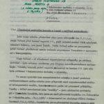 Nabídka prof. Wünsche ministerstvu techniky a výstavby praktické demonstrace jeho transportní metody na přesunu obytného domu ve Veltrusích