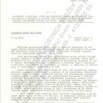 Copy of the statement requested by the committee of the chief of the General Headquarters of the Czechoslovak Army, prepared and supplied to Military Counterintelligence for use by the secretary of the working group at the Research Institute 401, Jindřich Průša.