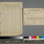 Obrázek 13 - Listy z vyšetřovacího spisu před restaurováním
