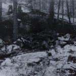 """Akce """"Poklad II"""", pracoviště č. 2 po skončení prací dne 7. prosince 1964."""
