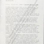 "Záznam o provedení telefonátu s tajným spolupracovníkem ""Hardym"" dne 14. 10. 1987"
