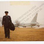 """Tajný spolupracovník """"Hardy"""" v americké letecké uniformě"""