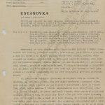 Basic information on Vlastimil Bubnik, dated 7 October 1952