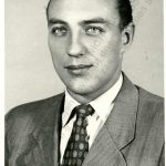 Vlastimil Bubnik's photograph from the time of his employment by the Ministry of the Interior
