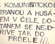 Leaflets and Anonymous Letters in 1968 and 1969, the Years of Crisis