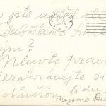 Dopis funkcionářům KSČ (přírůstek fondu Správa StB Praha z roku 2007, karton č. 173 – Anonymní dopisy 1969)