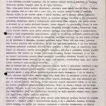 """Zpráva Rudolfa Rejmana předaná KP """"Bílkovi"""" v Dar es Salaamu ze dne 21. 5. 1967, ve které popisuje prvotní seznámení s budoucím pracovištěm"""