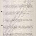 Zápis z jednání o personálním obsazení postu ředitele Národního archivu v Tanzanii po odchodu Rudolfa Rejmana ze dne 11. 9. 1968